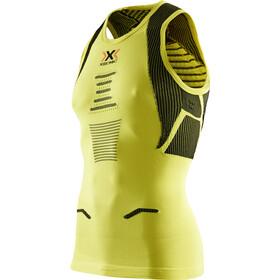 X-Bionic The Trick Running Miehet Hihaton jouksupaita , keltainen/vihreä